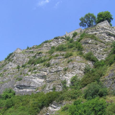 Falaises de Charlemont - RNR Pointe de Givet©P. Bourguignon