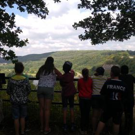 Etude du paysage et des habitats sur le site de la Roche à Wagne à Chooz